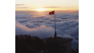 Đỉnh Fansipan Flycam - Thành Phố Trên Mây Tựa Thiên Đường - Cảnh Đẹp Việt Nam - Flycam 4K