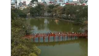 Hanoi - The City For Peace - Beautiful Vietnam - Flycam