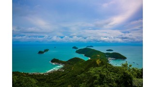 Vẻ đẹp nguyên sơ của đảo Nam Du nhìn từ trên cao